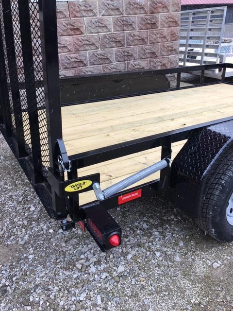 "2020 76"" x 10' GATOR MADE UTILITY / LANDSCAPE / ATV TRAILER"