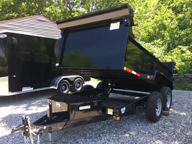"2020 QUALITY STEEL PRODUCTS 72"" X 10' DUMP TRAILER - RAMP COMBO DOOR S"