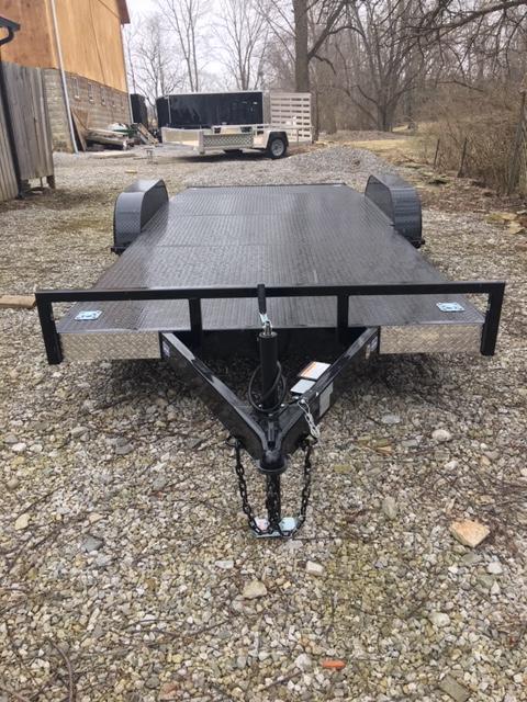 "82"" x 18' NATION TANK & TRAILER  CAR HAULER - ATV-  SIDE BY SIDE TRAILER"
