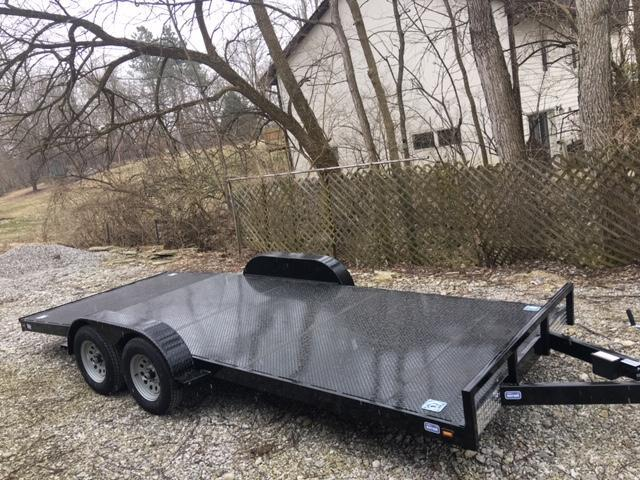 "82"" x 18' NATION TANK & TRAILER  CAR HAULER - ATV-  SIDE BY SIDE TRAILER"