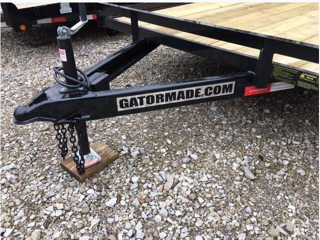 """2020 82"""" x 20' GATOR MADE TRACTOR -TRENCHER- SKID STEER EQUIPMENT TRAILIER"""