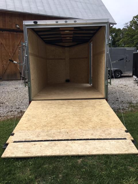 2019 TRIUMPH FORMULA FACTORY SPECIAL 7' X 12' ENCLOSED CARGO TRAILER
