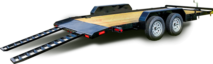 "2020  82"" x 20' GATOR MADE LOW BOY - ATV - CAR HAULER TRAILER"