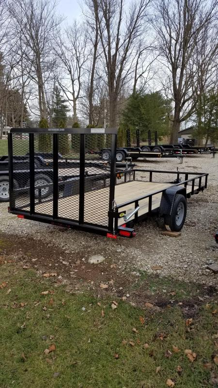 "2020 76"" x 14' GATOR MADE UTILITY / LANDSCAPE / ATV TRAILER"