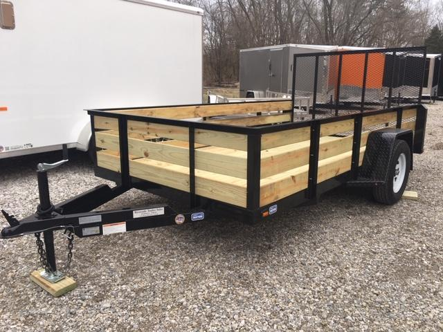 2019 Nation Tank and Trailer HS6123B Utility Trailer