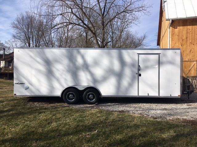 "2021 8.5' X 24' + 6"" Formula Trailers Triumph Cargo Slope Nose Cargo / Enclosed Trailer"