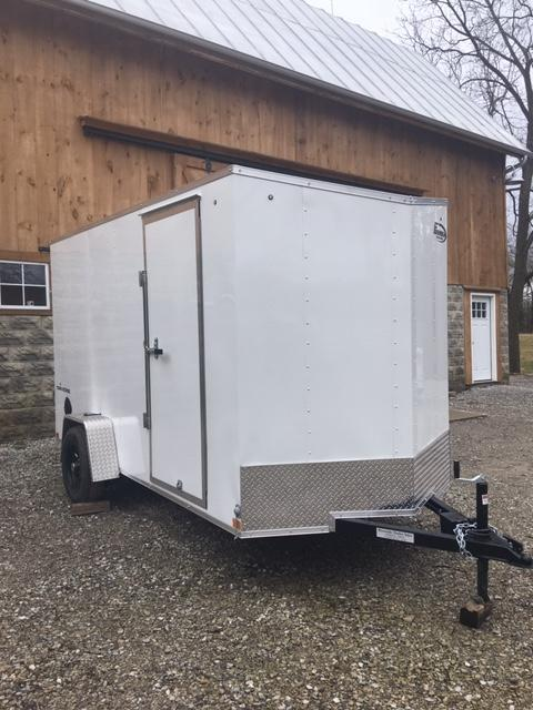 "2021 FORMULA 6' X 12' +6"" ENCLOSED CARGO TRAILER"