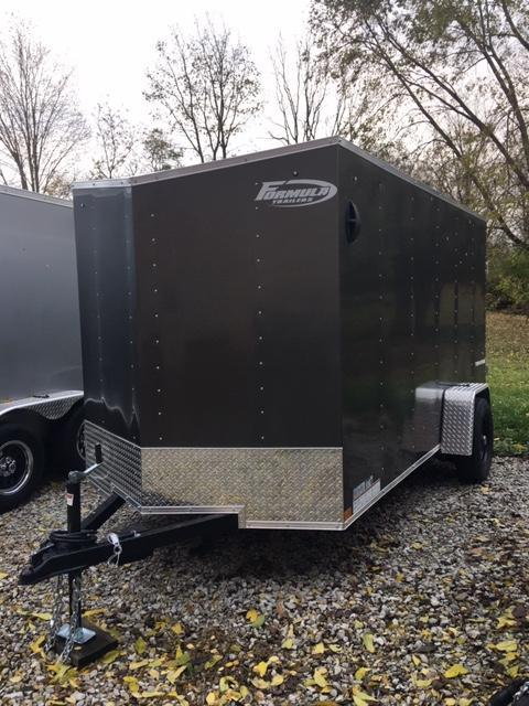 2020 FORMULA 6' X 12' ENCLOSED CARGO TRAILER