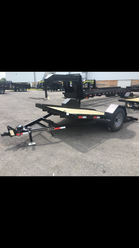 2020 7' x 12' GATOR MADE SCISSOR / MAN LIFTS / TRENCHERS / SMALL ROLLERS / STUMP GRINDER TRAILER