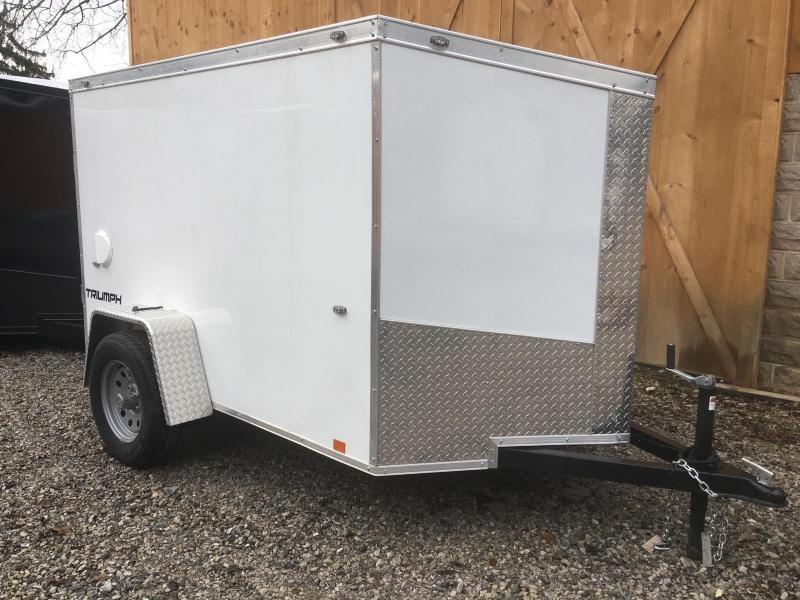 2019 FORMULA 5' X 8' ENCLOSED CARGO TRAILER