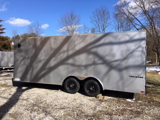 "2021 8.5 X 20' +6"" Formula Trailers Traverse Cargo / Enclosed Trailer"