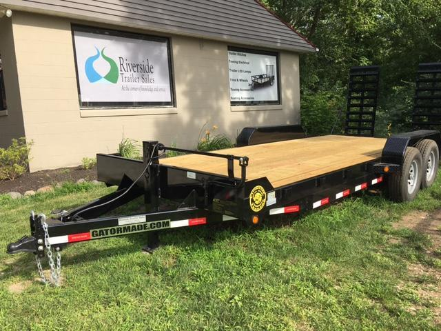 "2020 82"" x 20' GATOR MADE TRACTOR -TRENCHER- SKID STEER -TRUCK EQUIPMENT TRAILER"