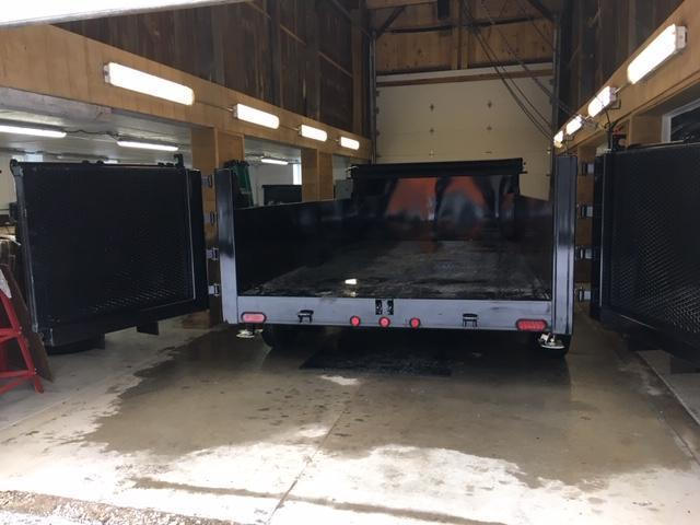 "2020 DUMP TRAILER RAMP COMBO DOORS 83"" X 12'"