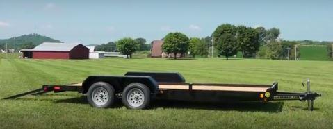 "2019 82"" x 18' GATOR MADE LOW BOY - ATV / CAR HAULER TRAILER"