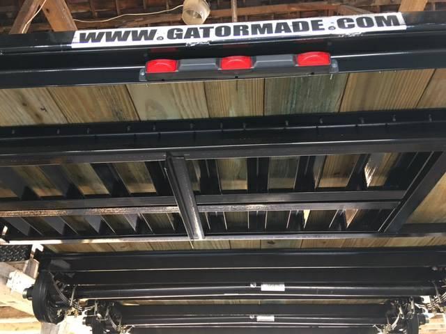 """2019 GATOR MADE 82"""" X 18' LOW BOY / CAR - ATV HAULER TRAILIER"""