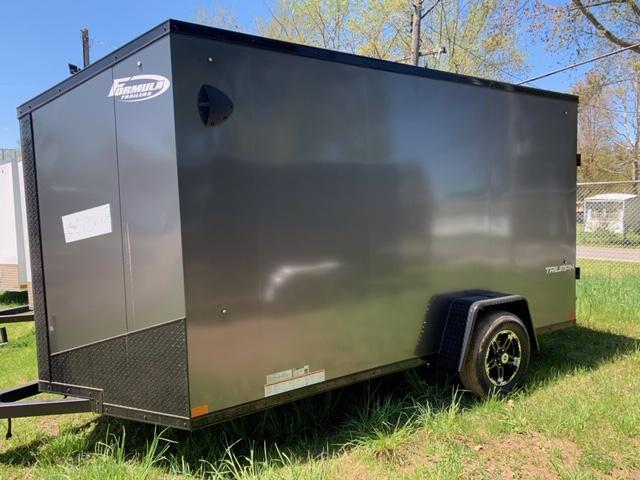 "2021 TRIUMPH FORMULA FACTORY SPECIAL 7' X 12' +6"" ENCLOSED CARGO TRAILER"