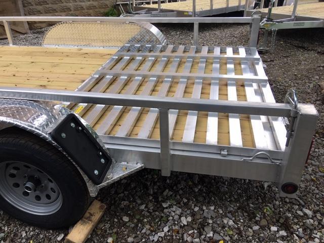 """2020 80"""" x 16'  QSA Aluminum Utility Trailer"""