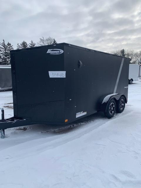 """2020 FORMULA SPECIAL """" BLACK OUT"""" ATV - MOTORCYCLE TRAILER 7 X 14"""