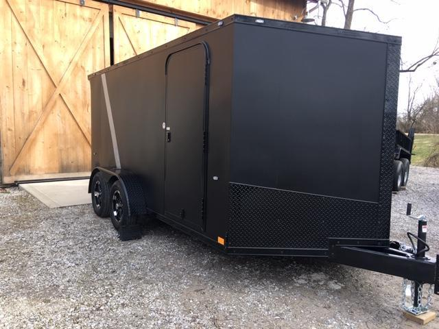 "2020 FORMULA SPECIAL "" BLACK OUT"" ATV - MOTORCYCLE TRAILER 7 X 14'"