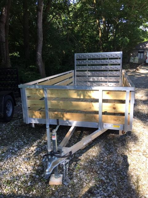 2021 Quality Steel and Aluminum 7410 DELUXE Utility Trailer