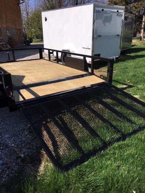 2020 Quality Steel and Aluminum ANGLE8212 Utility Trailer