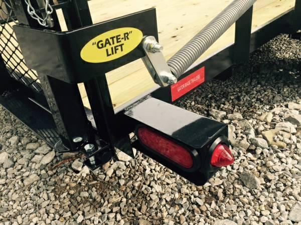 "2019 82"" x 18' GATOR MADE UTILITY / LANDSCAPE / ATV TRAILER"