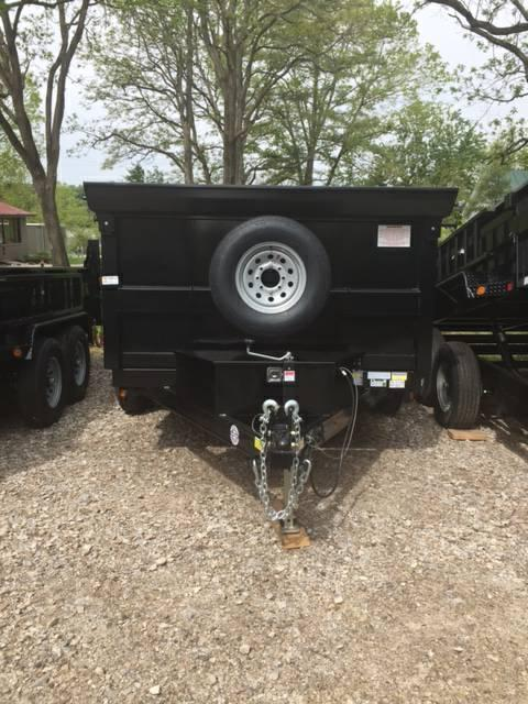 "2021 QUALITY STEEL PRODUCTS 83"" X 12' DUMP TRAILER"