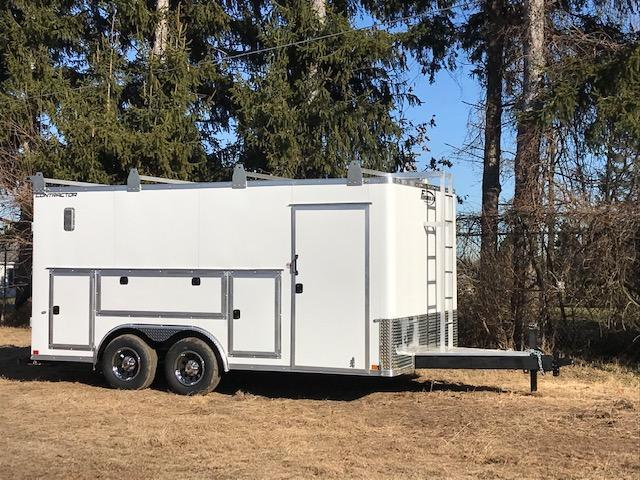 """2020 CONTRACTOR DLX CARGO / FLAT TOP / FLAT FRONT 8.5' X 16' 12"""""""