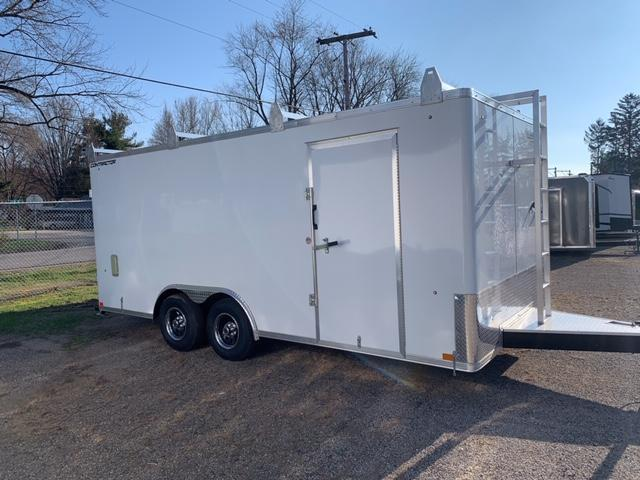 """2021 CONTRACTOR DLX TOOL CARGO / FLAT TOP / FLAT FRONT 8.5' X 18' + 12"""""""