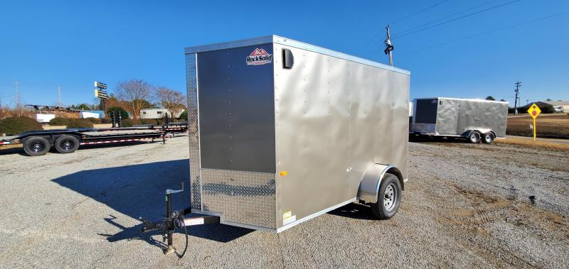 2020 Rock Solid Cargo 6' X 10' SA Enclosed Cargo Trailer