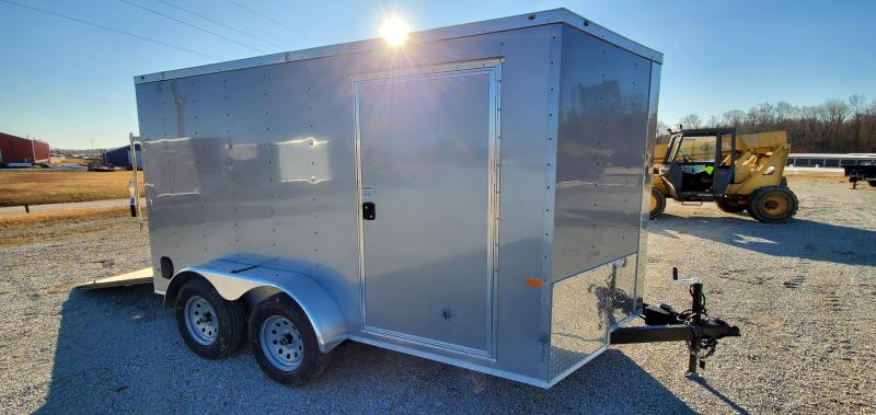 2020 Rock Solid Cargo 7 X 12 Tandem Enclosed Cargo Trailer
