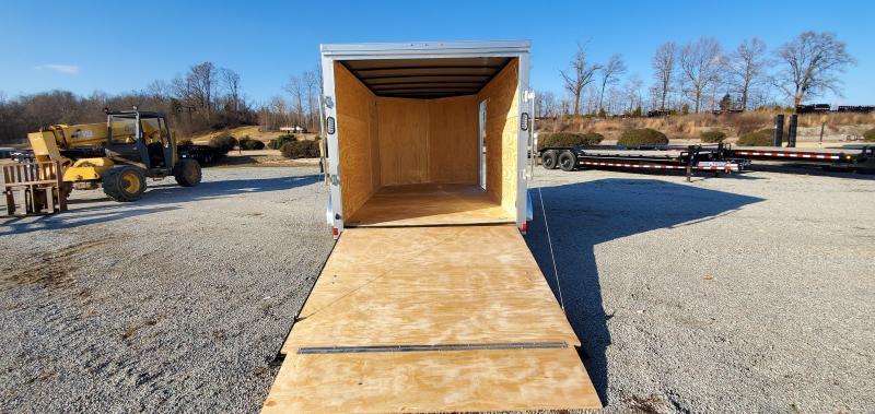 2020 Rock Solid Cargo 7 X 12 Tandem Enclosed Cargo Trailer