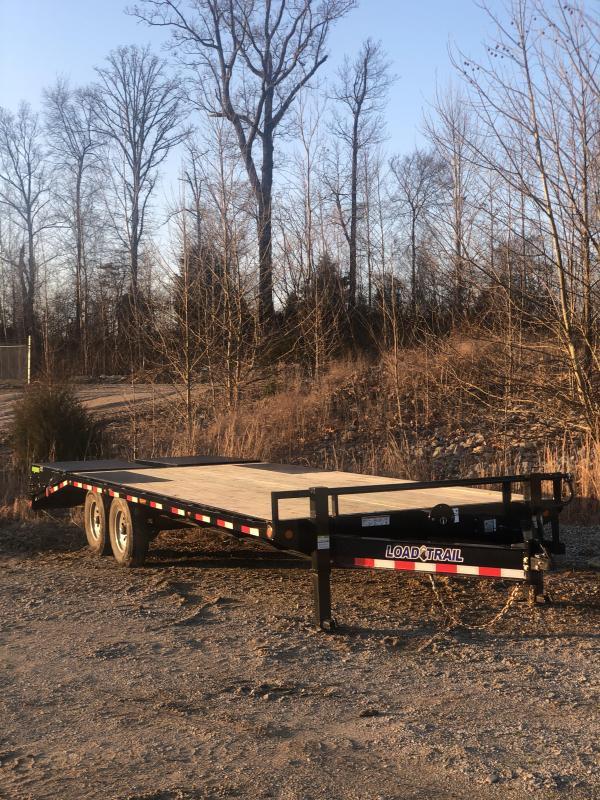 "2020 Load Trail 102"" X 24' Tandem Standard Pintle Hook Equipment Trailer"
