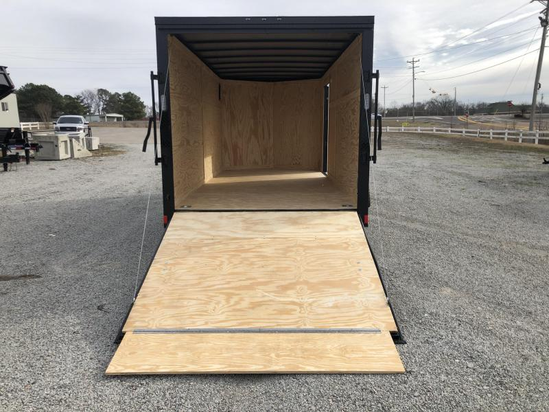 2020 Rock Solid Cargo 7 x 16 Tandem Axle Enclosed Cargo Trailer