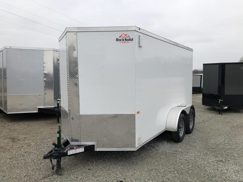 2020 6' X 12' Tandem Rock Solid Enclosed Trailer