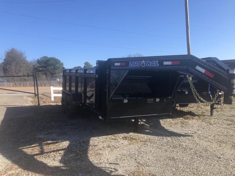 "2020 Load Trail 83"" X 14' Gooseneck Dump Trailer 36"" Sides"