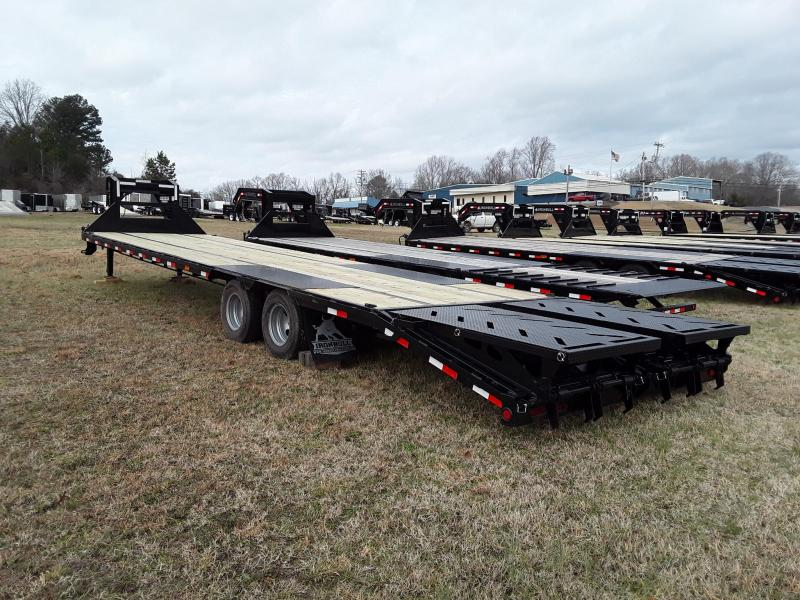 "2019 IRON BULL GOOSENECK LOW PRO 102"" X 36' 2-10K AXLES"