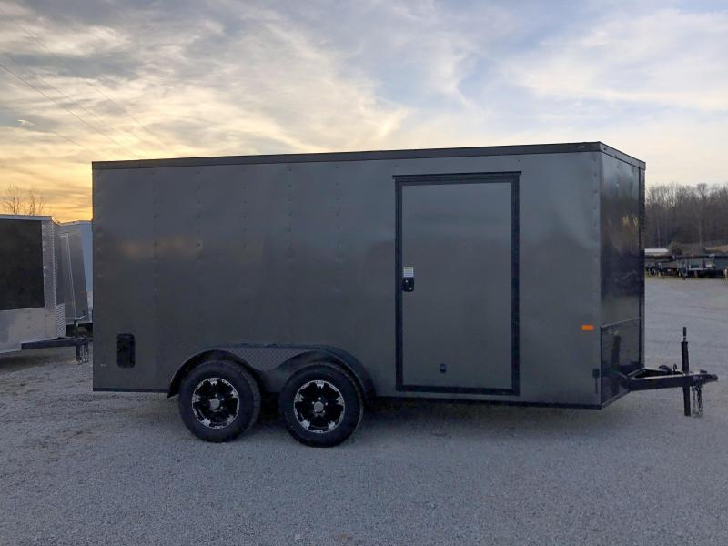 2020 Rock Solid 7 x 14 Tandem Axle Enclosed Trailer