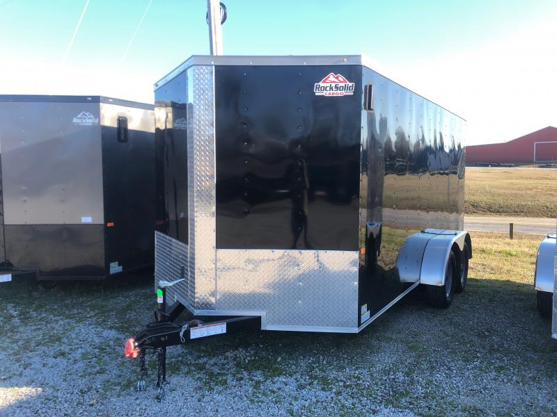 2020 Rock Solid Cargo 7' x 14' Tandem Axle Enclosed Cargo Trailer