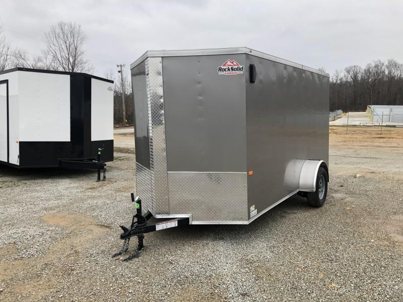 2020 6' X 12' Rock Solid Enclosed Trailer