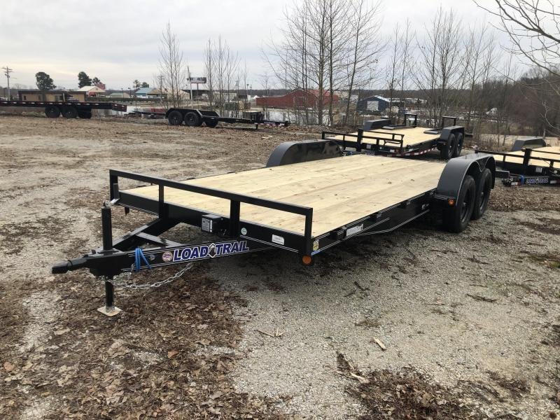 "2020 Load Trail 83"" x 18' Tandem Equipment Trailer"