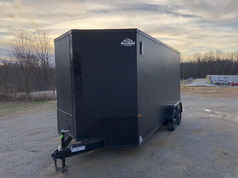 2020 Rock Solid Cargo 7' x 16' x 7'Tandem Axle Enclosed Cargo Trailer