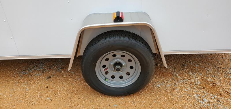 2020 Covered Wagon 6' X 12' Enclosed Cargo Trailer W/ 2990 lb axle