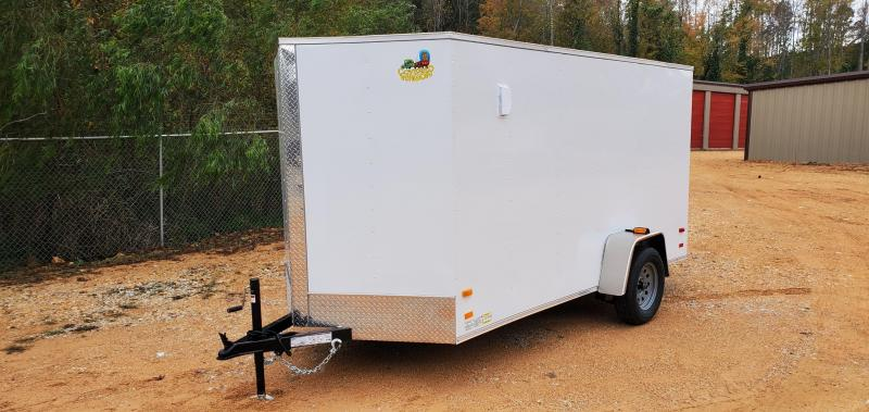 2020 Covered Wagon 6' X 12' Enclosed Cargo Trailer W/ 2990 lb axle