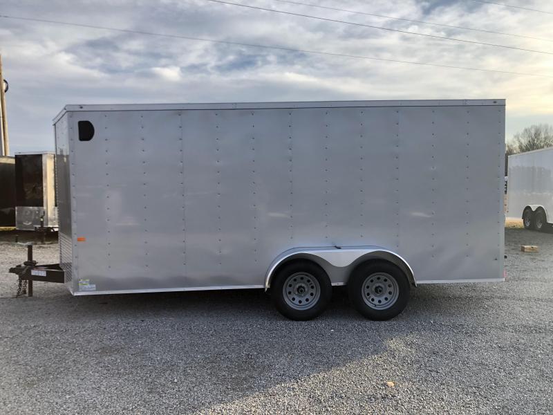 2020 Rock Solid Cargo 7' x 16' Tandem Axle Enclosed Cargo Trailer