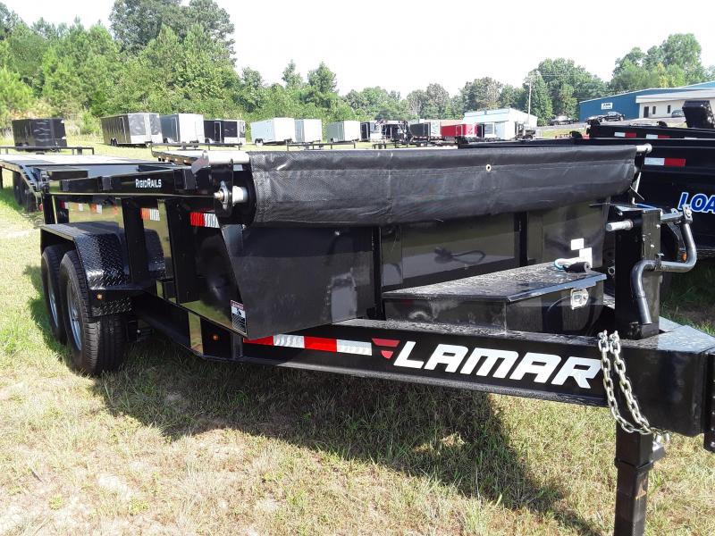 2020 Lamar Trailers 83 X 14 LOW-PRO DUMP 14K Dump Trailer
