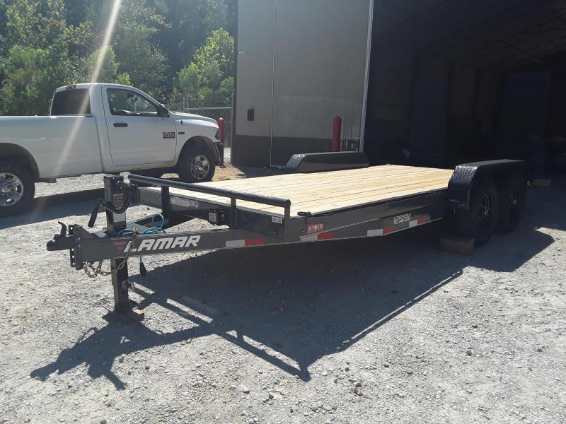 "2020 Lamar Trailers 83"" X 16' Equipment Trailer"