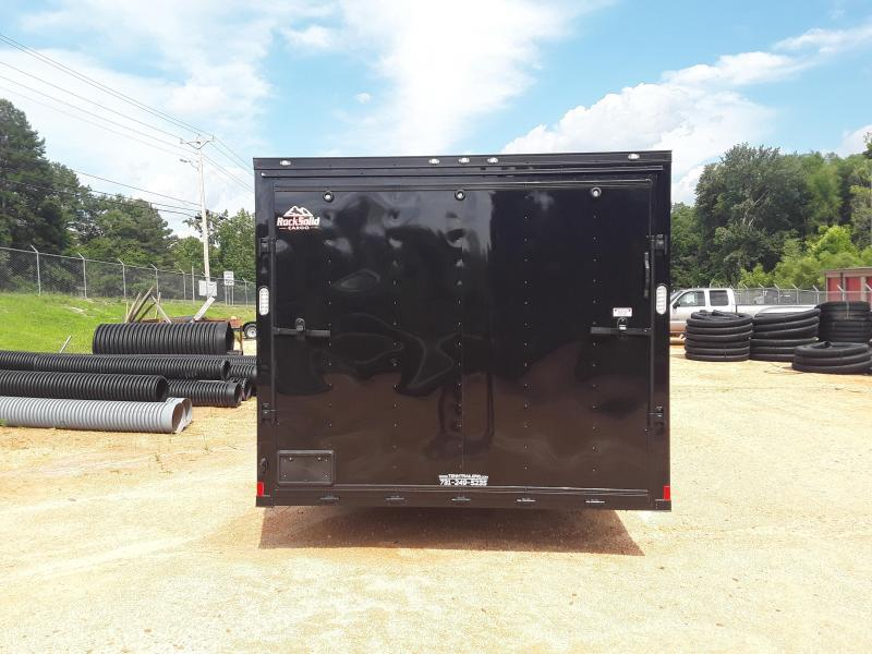 2019 Rock Solid  8.5' X 20'  Enclosed Trailer W Blackout Package