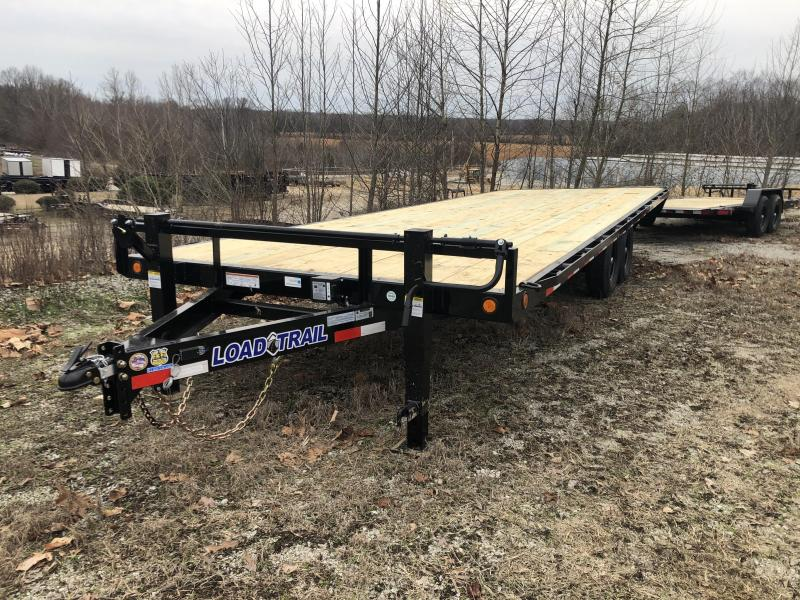 "2020 Load Trail 102"" x 24' Deck Over Pintle Equipment Trailer"