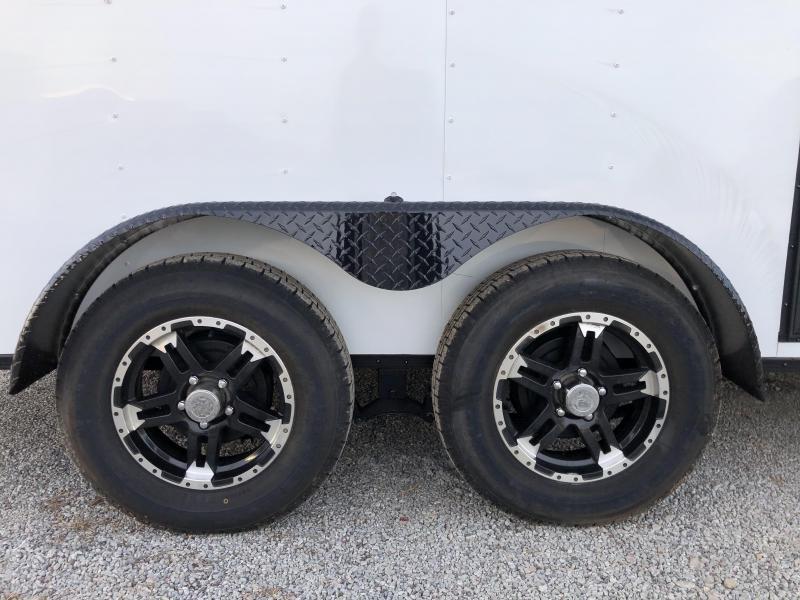 2020 Rock Solid 7 x 14 Tandem Axle Enclosed Trailer